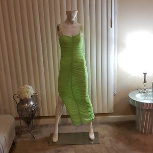 Green dress nwot